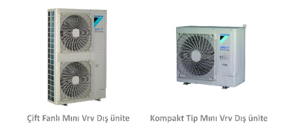 Mini VRV Sistemleri